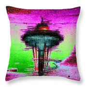 Needle In A Raindrop Stack Throw Pillow