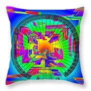 Needle In The Vortex Throw Pillow