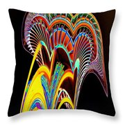 Needle On The Loose Throw Pillow