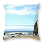Needles And The Haystack Throw Pillow