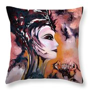 Nefertiti - Act With Modern Elegance Throw Pillow