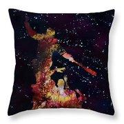 Negan Triumph And Stars Throw Pillow