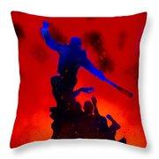 Negan Triumph  Throw Pillow