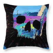 Negative Relations 2 Throw Pillow