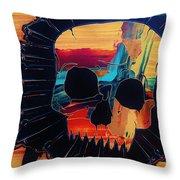 Negative Relations 3 Throw Pillow