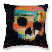 Negative Relations 5 Throw Pillow