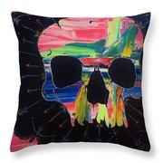 Negative Relations 6 Throw Pillow