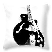 Negative Space Throw Pillow