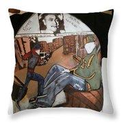 Neighorhood Watch Throw Pillow