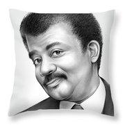 Neil Degrasse Tyson Throw Pillow