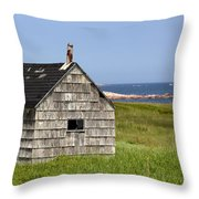 Neils Harbour Throw Pillow