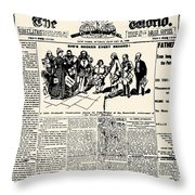 Nellie Bly (1867-1922) Throw Pillow