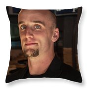 Nelson's 3/4 View Throw Pillow