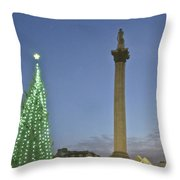 Nelson's Christmas Tree Throw Pillow