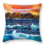 Nelsons View Of Freedom Throw Pillow