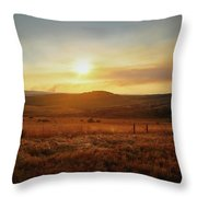 Nelspruit, South Africa Throw Pillow