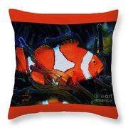 Nemo's Marlin Throw Pillow