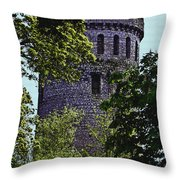 Nenagh Castle Ireland Throw Pillow