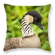 Nene Goose II Throw Pillow