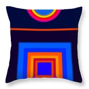 Neo-classical Cool Throw Pillow