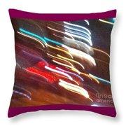 Neon 5a Throw Pillow