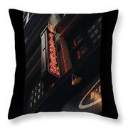 Neon At Noon  Throw Pillow