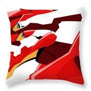Neon Genesis Evangelion Throw Pillow