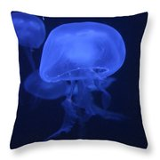 Neon Jelly 1 Throw Pillow