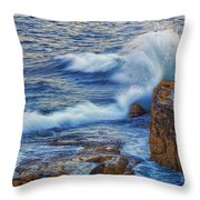 Neptune's Embrace Throw Pillow