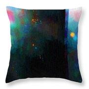Neptune's Monolith Throw Pillow