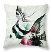 Neptunes Trio Throw Pillow