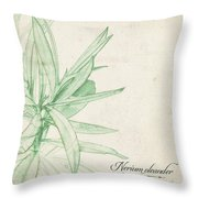 Nerium Oleander Throw Pillow