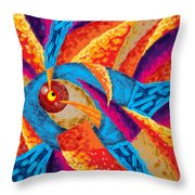 Nero Fish Throw Pillow