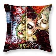 Neruda Love Poem Throw Pillow