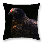 Nervous Little Critter Throw Pillow