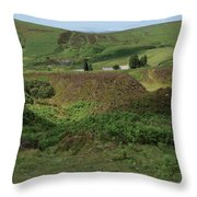 Nestled In The Valley Throw Pillow