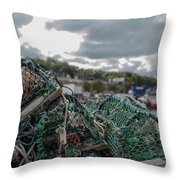 Net Throw Pillow