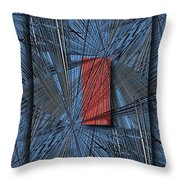 Networking 2 Throw Pillow