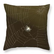 Networking Throw Pillow