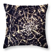 Networks Throw Pillow