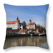 Neuburg Donau - Germany Throw Pillow