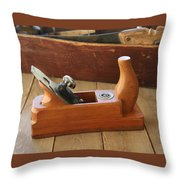 Neuenfeld Wood Plane Throw Pillow