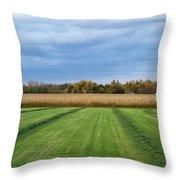 Neunen Fields Throw Pillow