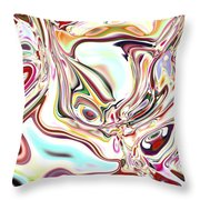 Neural Abstraction #11 Throw Pillow