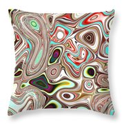 Neural Abstraction #12 Throw Pillow
