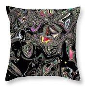 Neural Abstraction #13 Throw Pillow