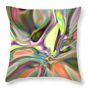 Neural Abstraction #14 Throw Pillow
