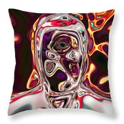 Neural Abstraction #17 Throw Pillow