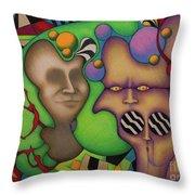 Neuronium Throw Pillow