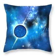 Neutron Star Throw Pillow